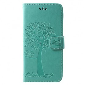 Huawei Honor Play vihreä puu suojakotelo