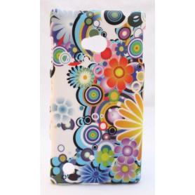 Nokia Lumia 720 kova suojakuori iloisen värikäs.