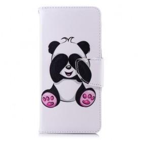 Nokia 5.1 (2018) söpö panda suojakotelo