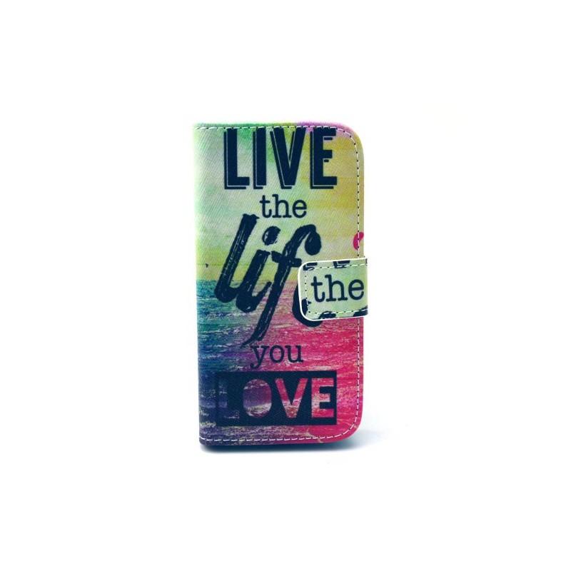 Galaxy S4 Mini life lompakkokotelo