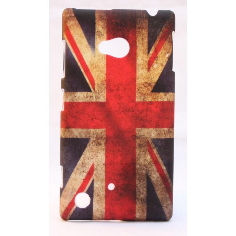 Nokia Lumia 720 kova suojakuori Iso-Britannian lippu.