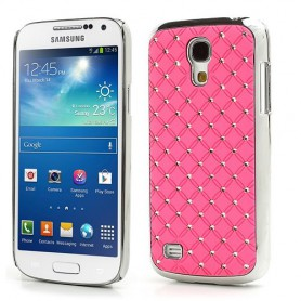 Galaxy S4 Mini roosan punaiset luksus kuoret