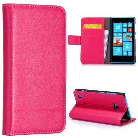 Lumia 720 hot pink lompakkokotelo