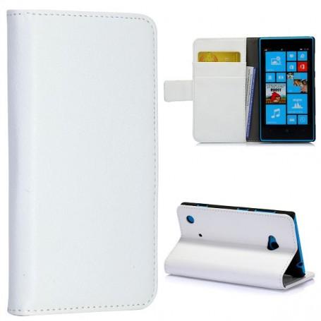 Lumia 720 valkoinen lompakkokotelo