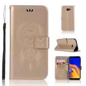 Samsung Galaxy J4 Plus kullanvärinen unisieppari suojakotelo