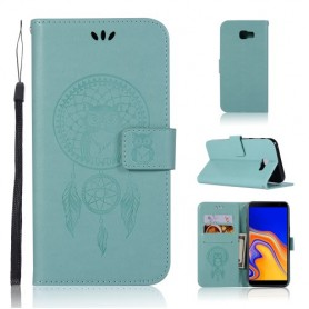 Samsung Galaxy J4 Plus mintunvihreä unisieppari suojakotelo