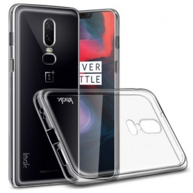 OnePlus 6 ultra ohuet läpinäkyvät kuoret