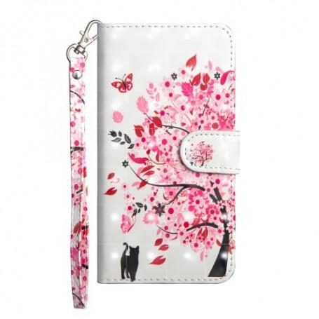 Huawei Honor 8X kukkiva puu suojakotelo