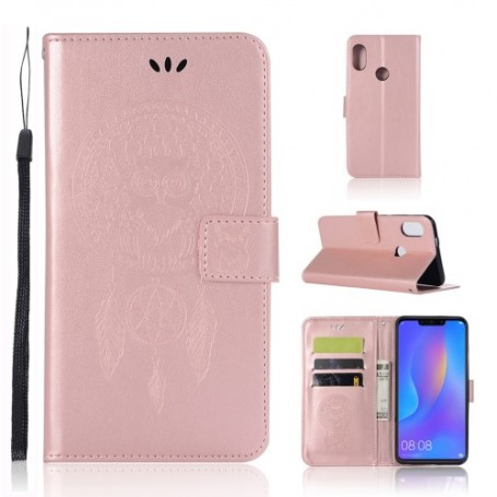Huawei Honor 8X ruusukulta unisieppari suojakotelo