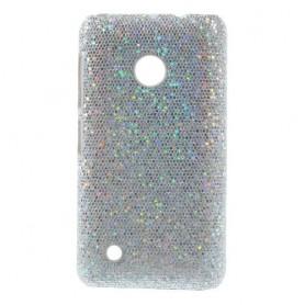 Nokia Lumia 530 hopean väriset kimallekuoret.
