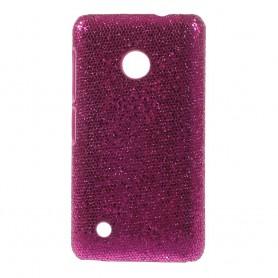 Nokia Lumia 530 hot pink kimallekuoret.