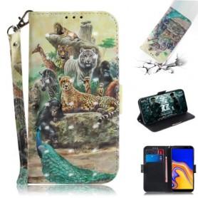 Samsung Galaxy J4 Plus eläimet suojakotelo