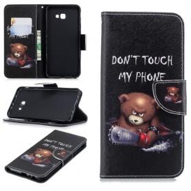 Samsung Galaxy J4 Plus vihainen nalle suojakotelo