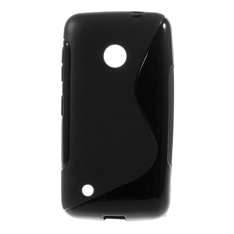 Lumia 530 musta silikonisuojus.