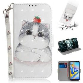 Samsung Galaxy J6 Plus kissa suojakotelo