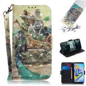 Samsung Galaxy J6 Plus eläimet suojakotelo