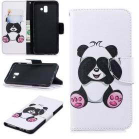 Samsung Galaxy J6 Plus panda suojakotelo