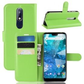 Nokia 7.1 (2018) vihreä suojakotelo