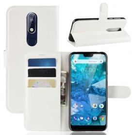 Nokia 7.1 (2018) valkoinen suojakotelo