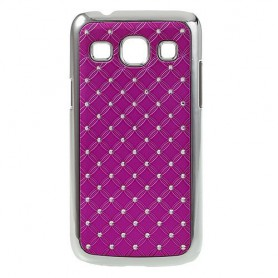 Galaxy Core Plus hot pink luksus kuoret