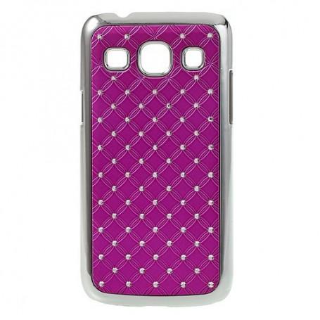 Galaxy Core Plus hot pink luksus kuoret