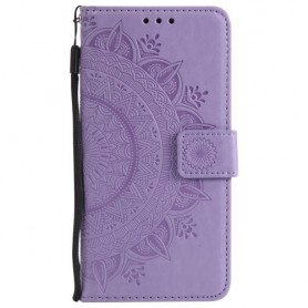 Huawei P Smart violetti mandala suojakotelo