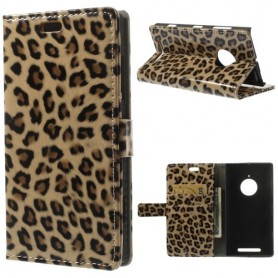 Lumia 830 leopardi puhelinlompakko