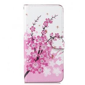 Huawei Nova 3 vaaleanpunaiset kukat suojakotelo