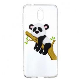 Nokia 3.1 (2018) läpinäkyvä nukkuva panda suojakuori.