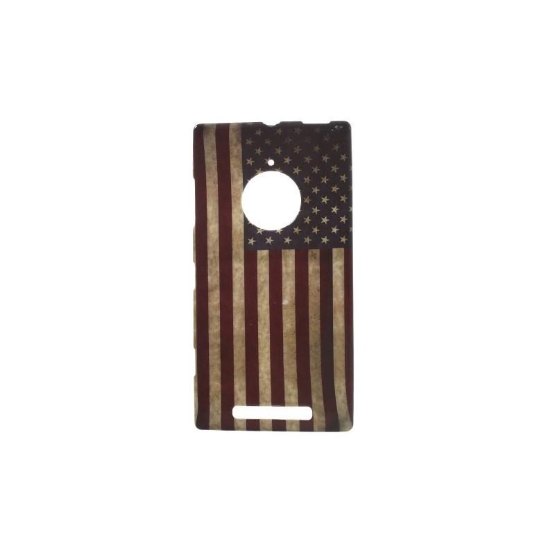 Lumia 830 Yhdysvaltojen lippu silikonisuojus.