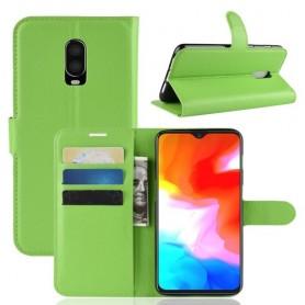 OnePlus 6T vihreä suojakotelo