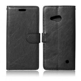 Lumia 550 musta puhelinlompakko