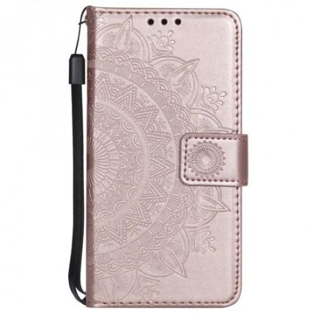 Samsung Galaxy S9 ruusukulta mandala suojakotelo