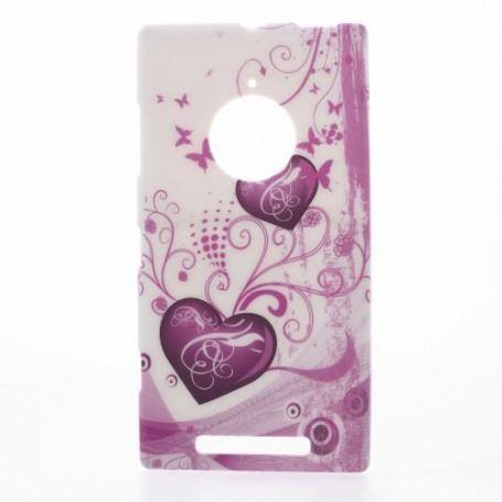Lumia 830 sydämet silikonisuojus.