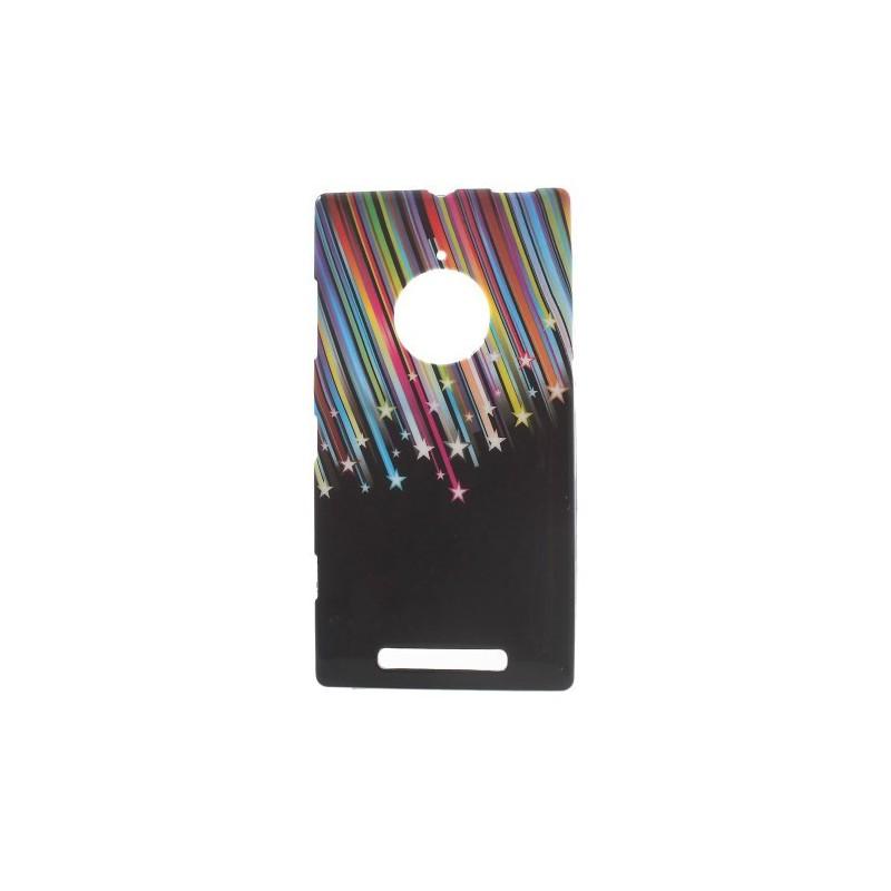 Lumia 830 tähtisade silikonisuojus.