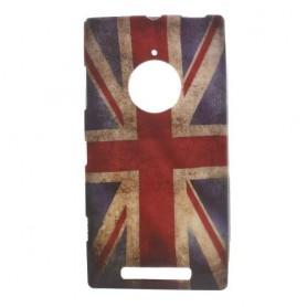 Lumia 830 Iso-Britannian lippu silikonisuojus.