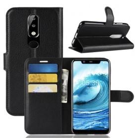 Nokia 5.1 Plus musta suojakotelo