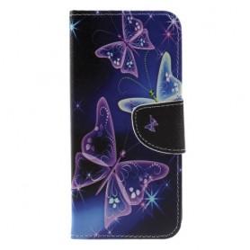 Nokia 5.1 Plus perhoset suojakotelo