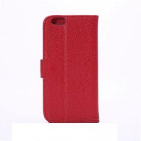 iPhone 6 plus punainen puhelinlompakko