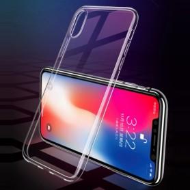 Apple iPhone XR ultra ohuet läpinäkyvät kuoret