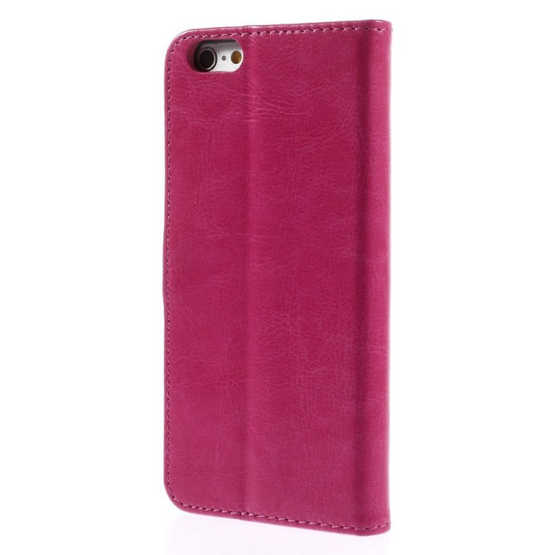 iPhone 6 plus hot pink puhelinlompakko