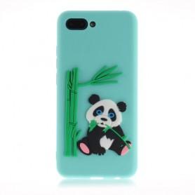 Huawei P Smart 2019 vaaleavihreä panda suojakuori.