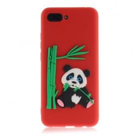 Huawei P Smart 2019 punainen panda suojakuori.