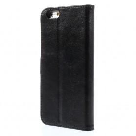 iPhone 6 plus musta puhelinlompakko