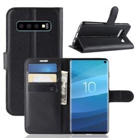Samsung Galaxy S10 musta suojakotelo
