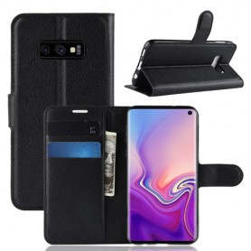Samsung Galaxy S10 Lite musta suojakotelo