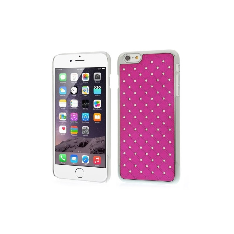 iPhone 6 plus hot pink luksus kuoret