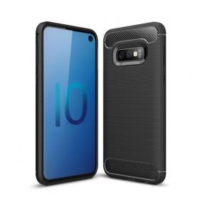 Samsung Galaxy S10 Lite musta suojakuori.