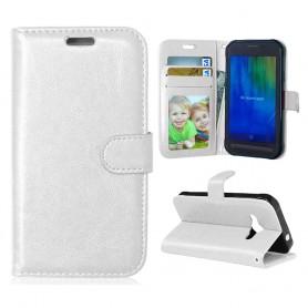Galaxy Xcover 3 valkoinen puhelinlompakko