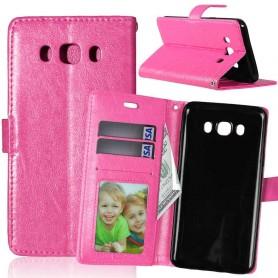 Samsung Galaxy J5 2016 hot pink puhelinlompakko